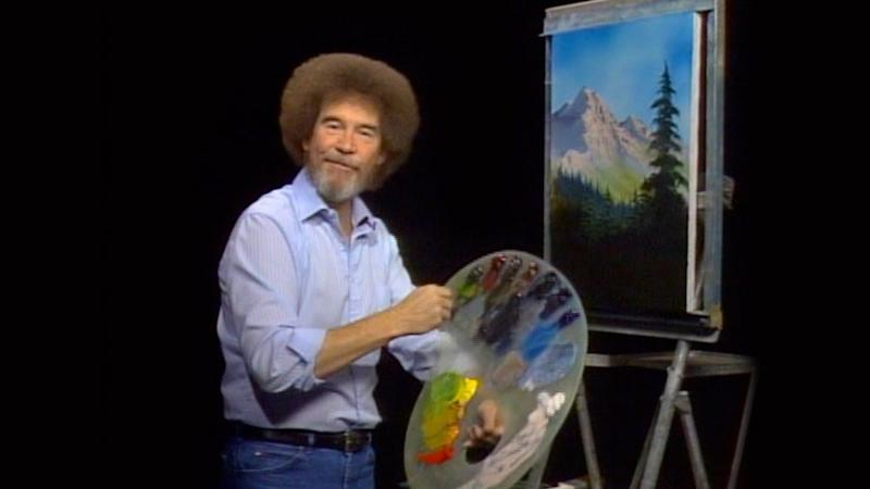 """<a href=""""https://www.spirithalloween.com/product/adult/mens/all-mens/adult-bob-ross-costume-firefly/pc/682/c/683/sc/4255/150396.uts?currentIndex=24&thumbnailIndex=42"""" target=""""_blank"""">Get the look</a>."""