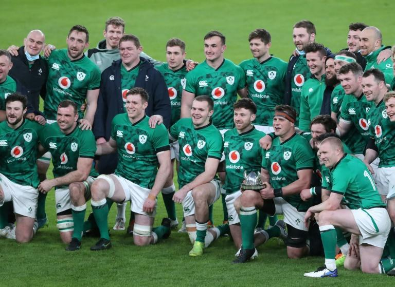 """Ireland head coach Andy Farrell says his players must use their 32-18 victory over England as a """"reference point"""" as they build towards the 2023 World Cup"""