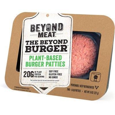 "<p><strong>Beyond Meat</strong></p><p>target.com</p><p><a href=""https://www.target.com/p/beyond-meat-burger-2pk-8oz-patties/-/A-53332974"" rel=""nofollow noopener"" target=""_blank"" data-ylk=""slk:BUY NOW"" class=""link rapid-noclick-resp"">BUY NOW</a></p><p><em>Men's Health</em> taste tasters agree that Beyond Meat offers a better plant-based burger than Impossible Foods. Their pea-protein patties are more widely available, less expensive, and lack the chemically aftertaste of the Impossible Burger. </p>"