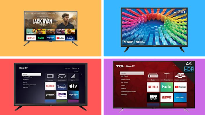Pick a TV, any TV...and save big for Presidents' Day. (Photos: Yahoo Life)