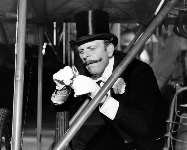 Terry Thomas as Sir Percy Ware-Armitage in <em>Those Magnificent Men In Their Flying Machines</em>. (Silver Screen Collection/Getty Images)