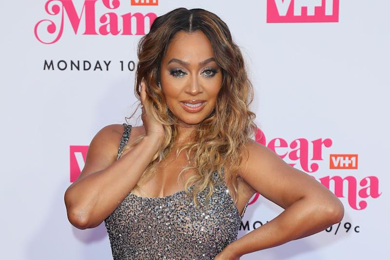 """La La Anthony has joined the cast of """"BH90210"""" playing fictional Brian Austin Green's wife. (Photo: Leon Bennett/Getty Images)"""
