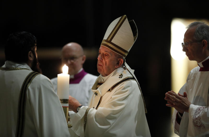 Pope Offers Prayer For COVID-19 Sick — EASTER