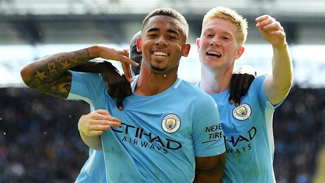 Gabriel Jesus could recover from a medial knee ligament injury to face Basel in the last-16 of the Champions League for Manchester City.