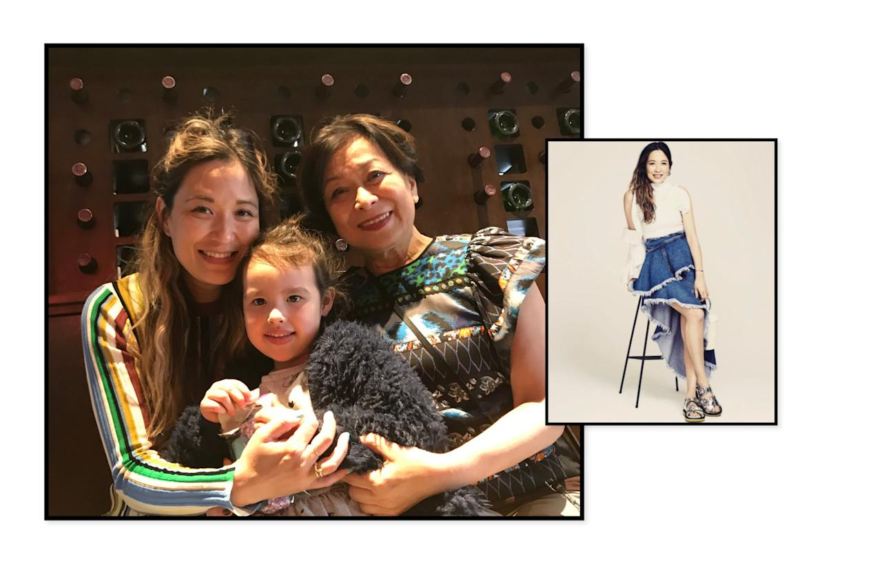 """<p><strong><a rel=""""nofollow"""" href=""""https://www.instagram.com/carolineinnycity/?hl=en"""">Caroline Maguire</a> Fashion Director at <a rel=""""nofollow"""" href=""""https://www.shopbop.com/"""">Shopbop </a></strong><em>(Photo: Courtesy of Caroline Maguire)</em><strong><a rel=""""nofollow"""" href=""""https://www.shopbop.com/""""><br /></a></strong><br /><strong>What is the best style advice you received from your mother? </strong><br /> My mom has always taught me to really <em>OWN MY STYLE</em>. Having great style is not about always having the high-end designer labels. It is about how you mix and match the high and the low. What matters most is how you put it together and feel confidant doing so.<br /><br /><strong>What will you give your mom this year?</strong><br /> Being that my parents live in California, I wont be able to physically spend the day with her, so we plan on celebrating it early when I fly out end of April. Brunch, a sweet card and time well spent together is all that she ever wants! </p>"""