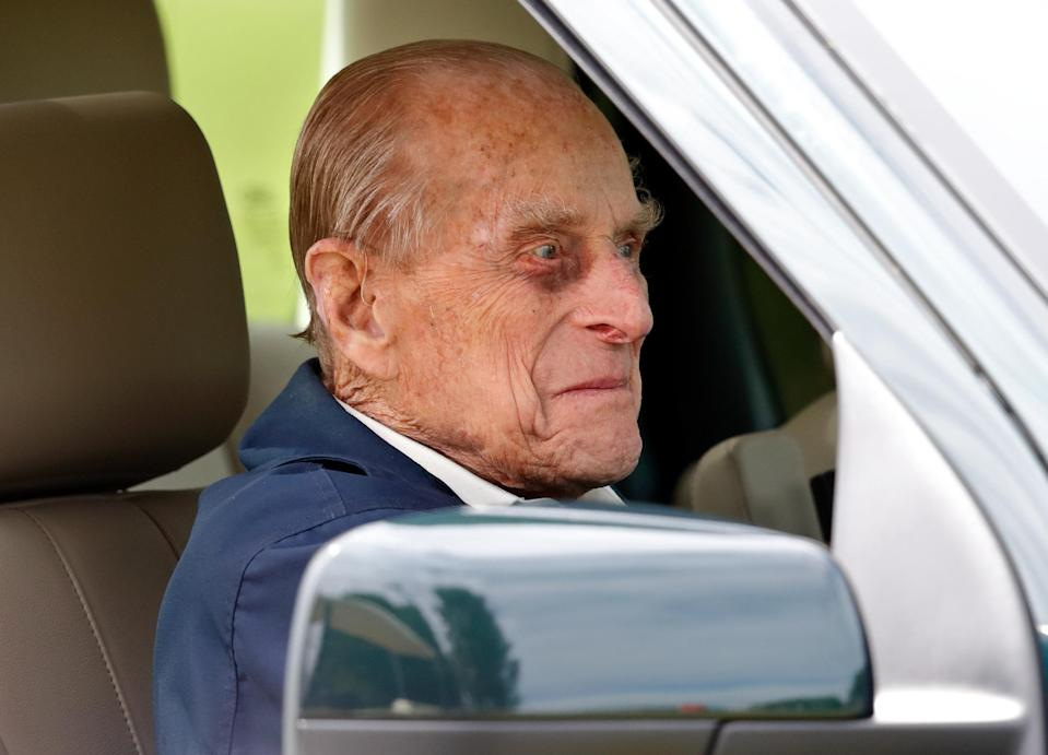 Prince Philip does hold a driver's licence. Photo: Getty