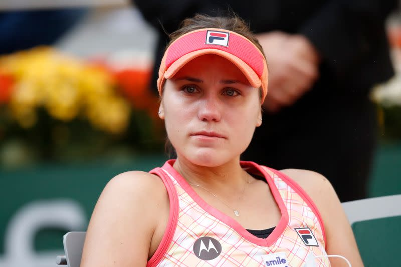 Kenin finds positives despite French Open campaign ending in tears