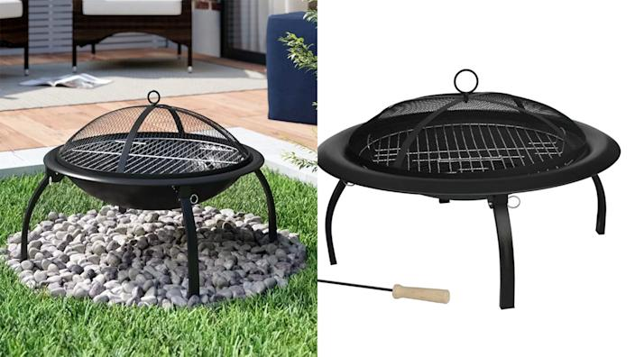 Fall into lovely family nights with with this fire pit.