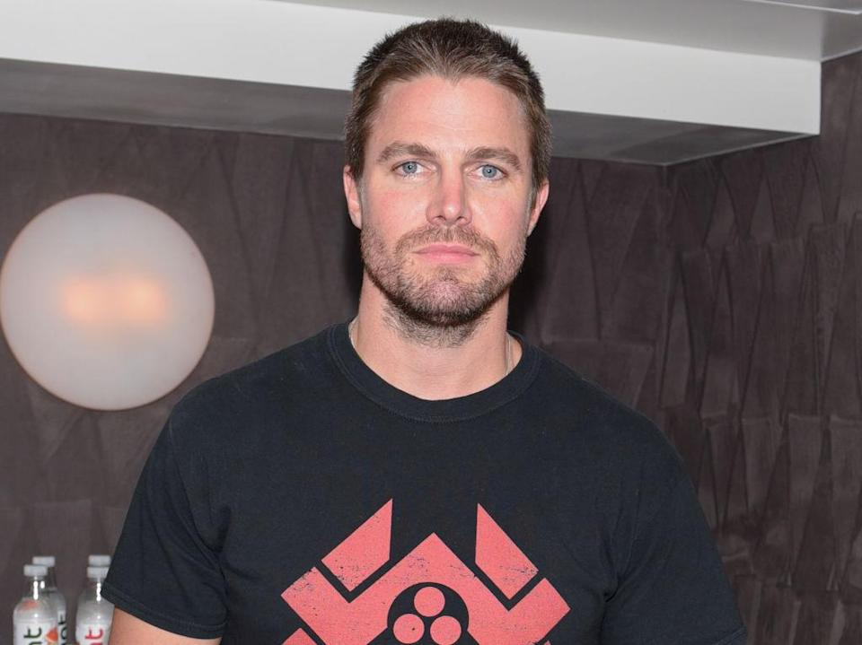 Stephen Amell at this year's San Diego Comic-Con. (Photo: Michael Bezjian/Getty Images for Hint)