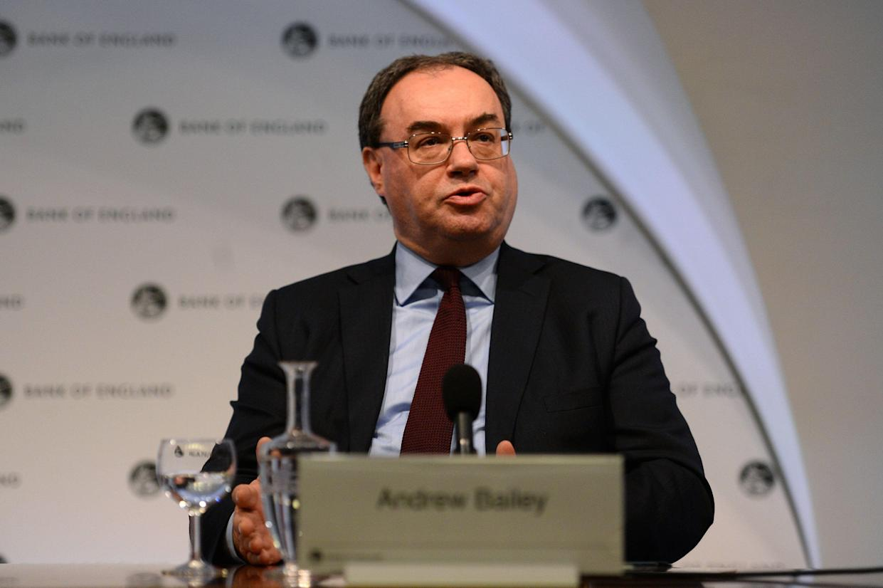 Andrew Bailey, chief executive of the Financial Conduct Authority (FCA). Photo: Kirsty O'Connor - WPA Pool/Getty Images