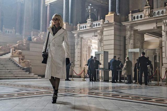 Charlize Theron in 'Atomic Blonde' (Photo: Focus Features)