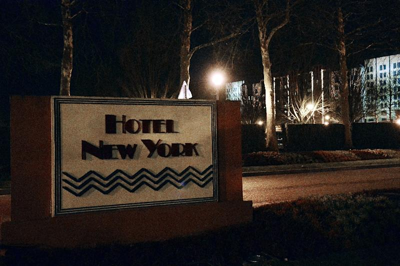 A view of the hotel in Disneyland Paris where a man carrying two handguns, ammunition and a Koran was arrested on January 28, 2016 (AFP Photo/Bertrand Guay)