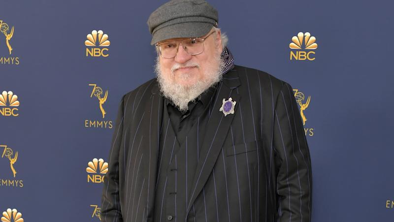 George R. R. Martin le 17 septembre 2018 à Los Angeles lors des Emmy Awards - Neilson Barnard - Getty Images North America - AFP
