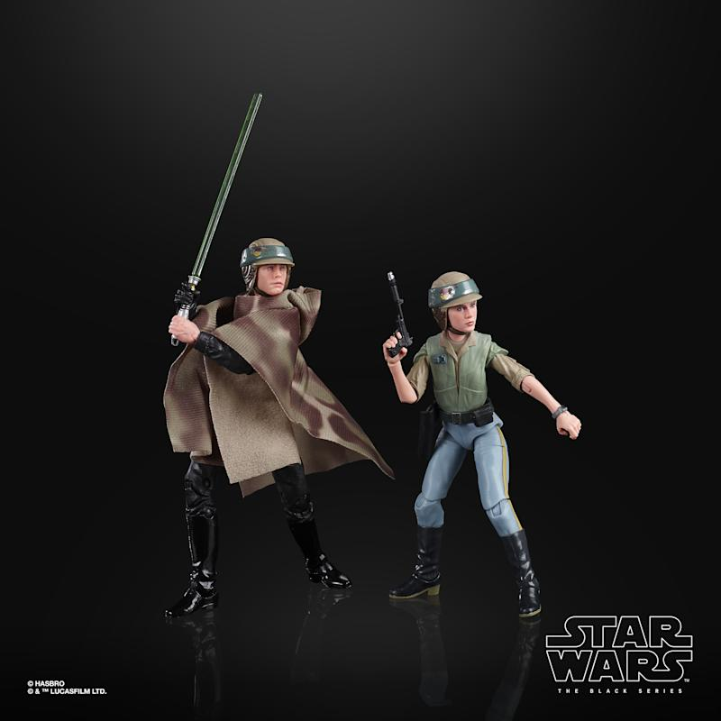 Luke and Leia Skywalker (Photo: Hasbro)