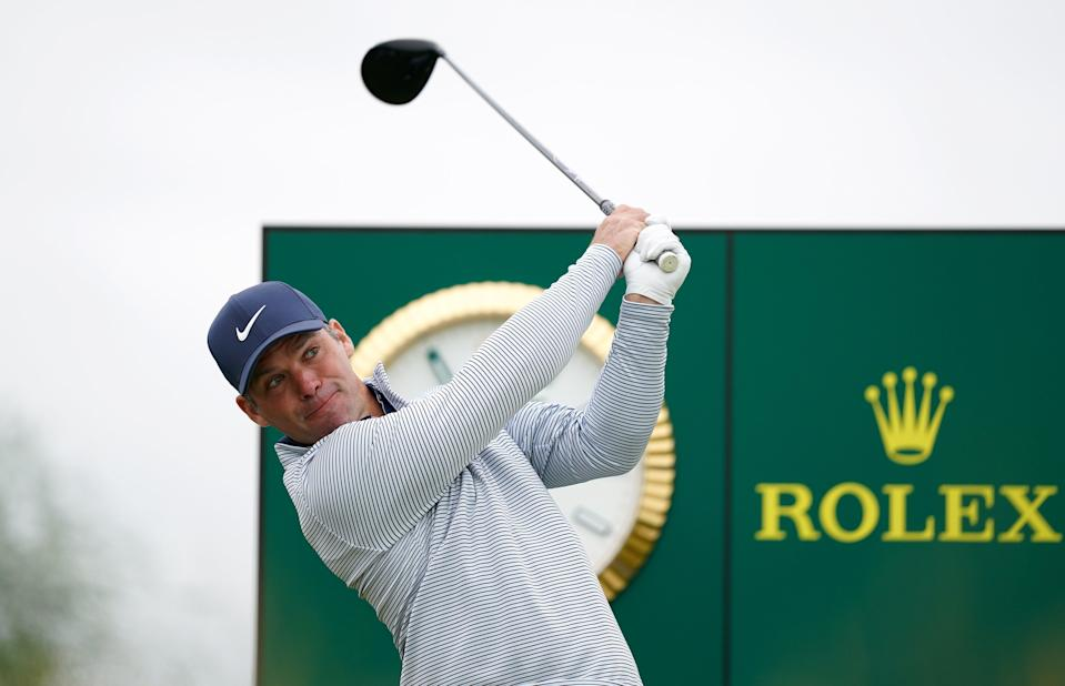 England's Paul Casey tees off (PA Wire)