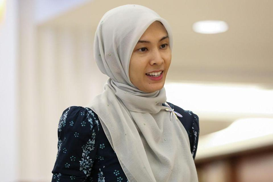 Nurul Izzah Anwar is pictured at Parliament in Kuala Lumpur October 30, 2019. — Picture by Yusof Mat Isa