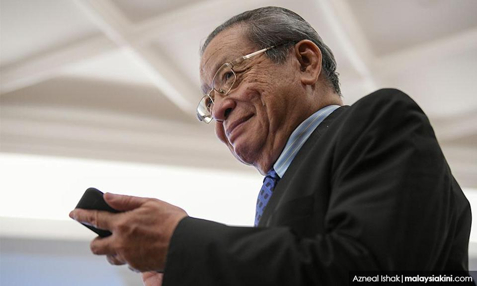 Kit Siang: Govt should not expect 'blank cheque' on Budget 2021 support