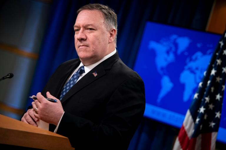 US Secretary of State Mike Pompeo arrives in Kabul amid an ongoing political crisis in Afghanistan