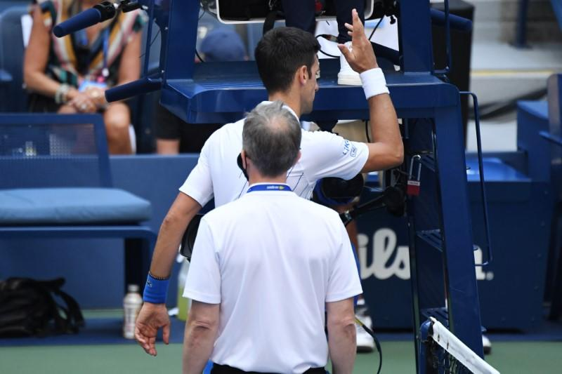 Factbox Reaction To Djokovic S Disqualification From U S Open