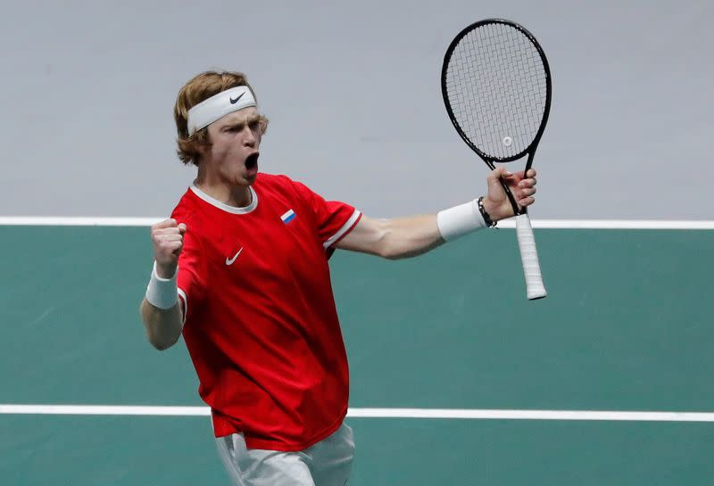 ATP roundup: Rublev, Harris move into Adelaide final