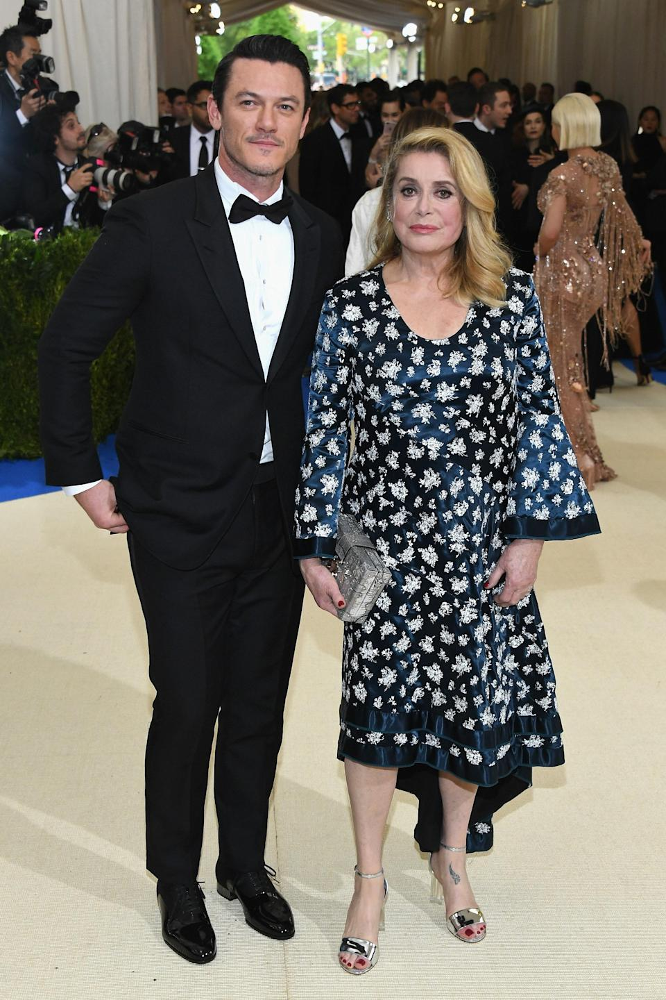 """<h1 class=""""title"""">Luke Evans and Catherine Deneuve in Repossi jewelry</h1> <cite class=""""credit"""">Photo: Getty Images</cite>"""