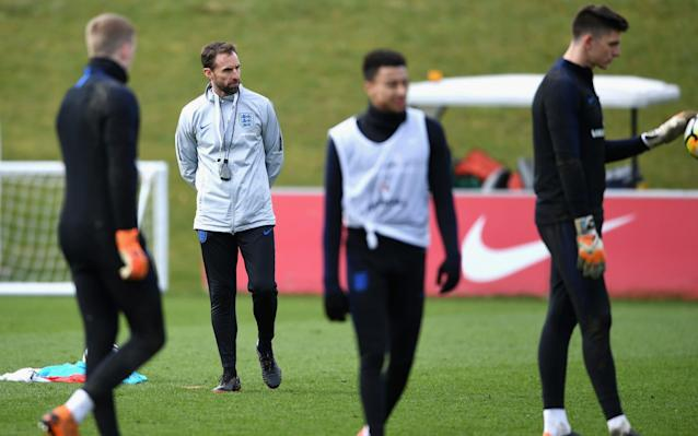 Ahead of the first of England's four warm-up friendlies, against Holland on Friday night, Matt Law highlights the biggest areas of concern Goalkeepers Gareth Southgate no longer has a recognised No 1 after Joe Hart's loan move to West Ham United did not work out. Jack Butland and Jordan Pickford are pushing hard to take the gloves, but have relatively little experience. Burnley's Nick Pope has also made a late run into the squad, but Southgate needs to make up on his mind on his goalkeeper – quickly. Fabio Capello went to the South Africa World Cup with question marks over his goalkeepers and it backfired spectacularly on England. The back three Having committed himself to playing with a back three, Southgate has been hit by a loss of form and injuries to his centre-backs. He wants to look at Eric Dier in defence, but the omissions of Gary Cahill and Michael Keane leave Southgate short of options. Nevertheless, he has made it clear he will not turn back to Chris Smalling. John Stones and Harry Maguire can be confident of taking two of the places at the World Cup, but the third still appears to be very much up for grabs. England's World Cup 2018 squad - ranked. Who's on the plane to Russia? Captaincy Southgate is yet to settle on a permanent captain for the World Cup. Harry Kane would appear to be in the driving seat, but he is absent through injury for the Holland and Italy friendlies. The armband may not carry the same significance it once did, but England will need a strong leader in Russia. Nobody took responsibility on the pitch when things started to go wrong in the Euros against Iceland and that cannot be allowed to happen again. Harry Kane appears in driving seat to be England's captain for World Cup Credit: PA Boredom England have failed to strike the right balance between shutting the players away and keeping them occupied at recent tournaments. Southgate's Repino training base, an hour outside Saint Petersburg, looks quiet and boring so the England manager