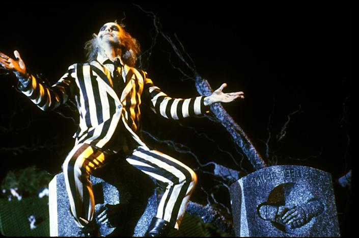 Beetlejuice, the character made famous by Michael Keaton in the 1988 film of the same name, was the original host of Universal Studios' Halloween Horror Nights. He's returning for the event's 30th anniversary.
