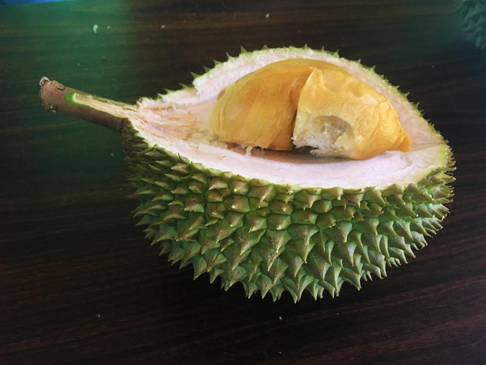 From Segamat, Johor, the D13 has a soft, custardy and smooth flesh with a creamy texture and bittersweet aftertaste. (Photo by: Erin Kimbrell/Yahoo Singapore)