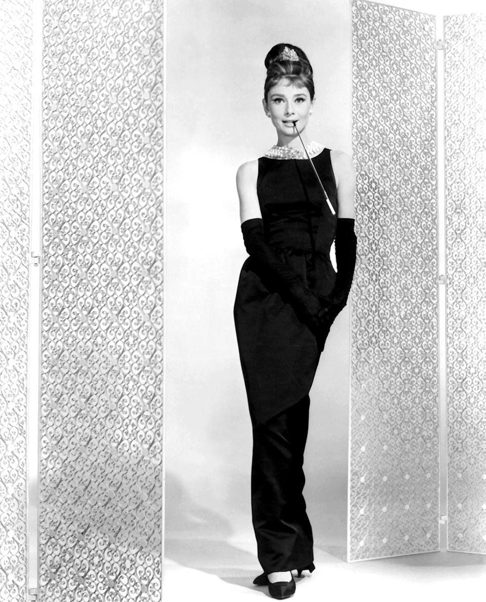 <p>The moment Audrey Hepburn traversed the screen in her black evening gown and pearls, the look became an instant classic. Although the <em>Breakfast at Tiffany's </em>star wore many noteworthy outfits in the film, it's this sophisticated combination that's most directly connected to her character, Holly Golightly. </p>