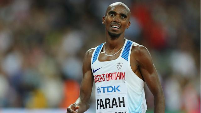 """Mo Farah believes sections of the media have treated him unfairly. """"I'm a clean athlete. What I achieve is through hard work,"""" he said."""