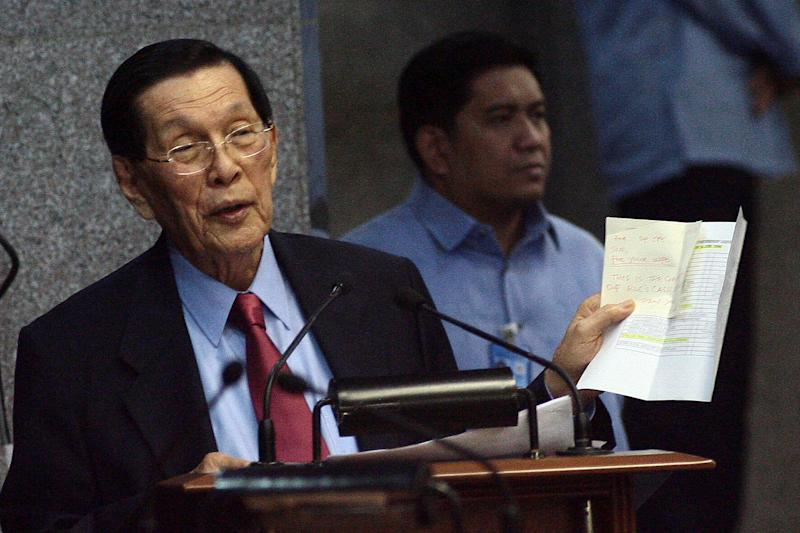 Old, personal issues surface amid Enrile-Cayetano rift
