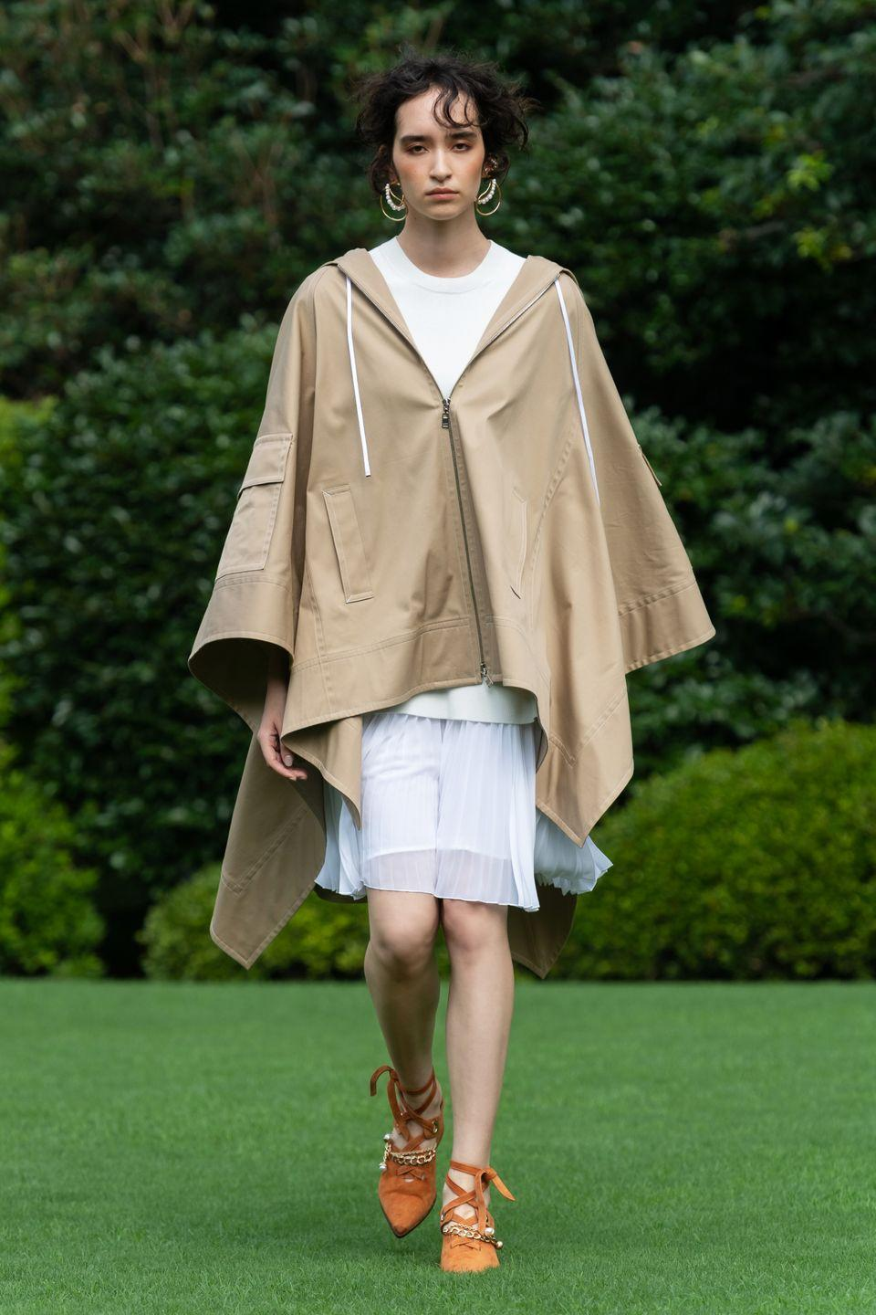 <p>While Hanako Maeda would typically be in New York come September, the designer has been quarantining in Tokyo with her family. Adeam's Spring 2021 show was, therefore, that much more global: filmed live in Japan, and released virtually to time with New York Fashion Week. </p><p>Maeda typically infuses some elements of her heritage into her garments. But this season it was all about summertime in Japan, illustrated through linen and cotton, the fabrics traditionally used to make <em>yukata</em>, the warm weather kimono worn to summer festivals and hot springs. Those fabrications appeared in a myriad of forms, from easy dresses to wide-leg trousers. They were joined by the brand's go-to Japanese crepe and cotton poplin, which were used to create convertible (and comfortable) daytime pieces. In a mid-pandemic world where designers are challenged to dictate what a now sweatpants-obsessed clientele will wear next spring, it seems Maeda has an answer: easy, breezy, effortless silhouettes—in a hopeful palette of soft blues, camel, whites, sunset orange. and rich fuchsia—that are just as comfortable, but feel infinitely more polished than loungewear. —<em>Carrie Goldberg</em></p>