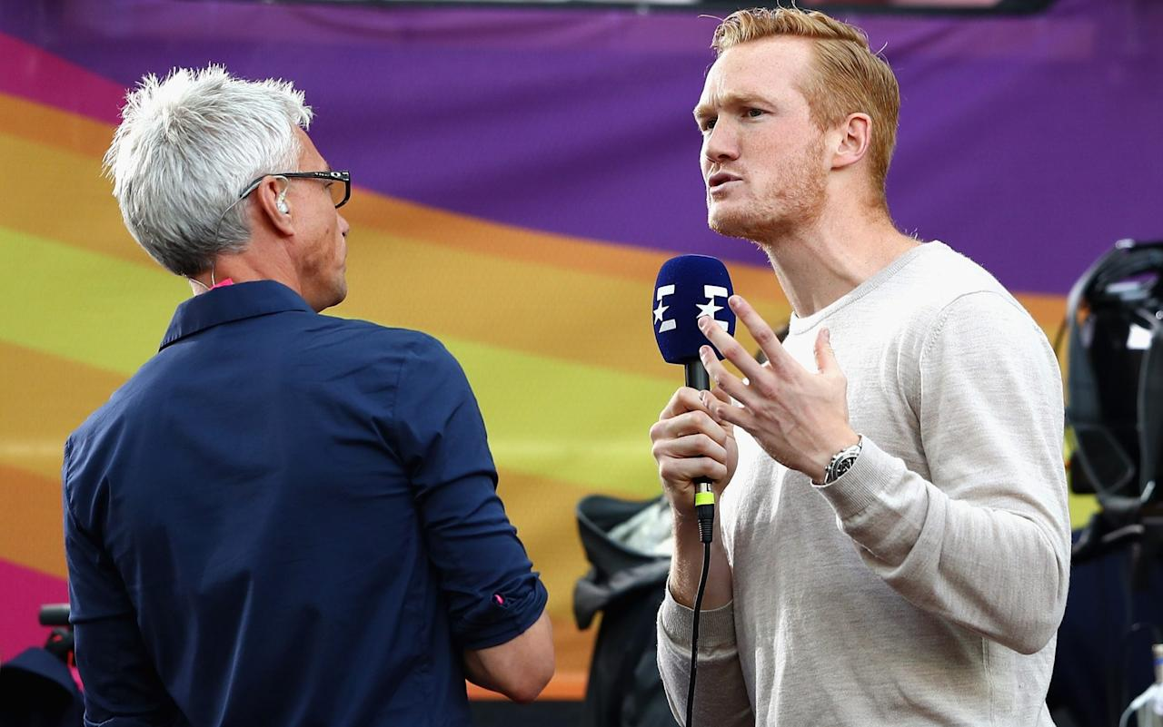 """Greg Rutherford has called on more sports to create athlete unions after a former British Olympic star revealed she was close to breaking point having failed to land a job and sold her belongings on eBay to make ends meet. Gail Emms, who won badminton silver at the 2004 Games, said she felt """"ashamed"""" to admit she was struggling after work began to dry up. Rutherford, who is unable to defend his long jump title at the London World Championships due to injury, has spent an increasing amount of time away from athletics in recent months as he looks to build his profile in the twilight of his career. Gail Emms has struggled after work began to dry up Credit: GETTY IMAGES He reached the latter stages of Strictly Come Dancing last November, has set up an online fitness programme, is trekking across Oman for charity this winter and is providing analysis for Eurosport throughout these World Championships. He said: """"I turn 31 this year. I've got a young family and my career isn't going to be going on much longer so you have to start thinking about the future. It's difficult because there are these periods where you're massively in the limelight. """"I know Gail very well and she was a superstar after winning her Olympic medal. But in many sports – especially Olympic sports – you finish your career and then there is this massive void. It's not like there's vast sums of money being thrown around during your career and then afterwards you've got to snap back to reality and find work. But you've missed huge parts of when most people are learning their trade. The World Athletics Championships in numbers 01:06 """"So it is difficult and I think sport needs to do a better job of helping people transition. Maybe something like a pension scheme to help people have time to figure something out once they retire. """"Gail is incredibly intelligent, eloquent and gifted, so for her to be in the scenario that she is in, I really feel sorry for her. For some of the people who don't have her backgroun"""