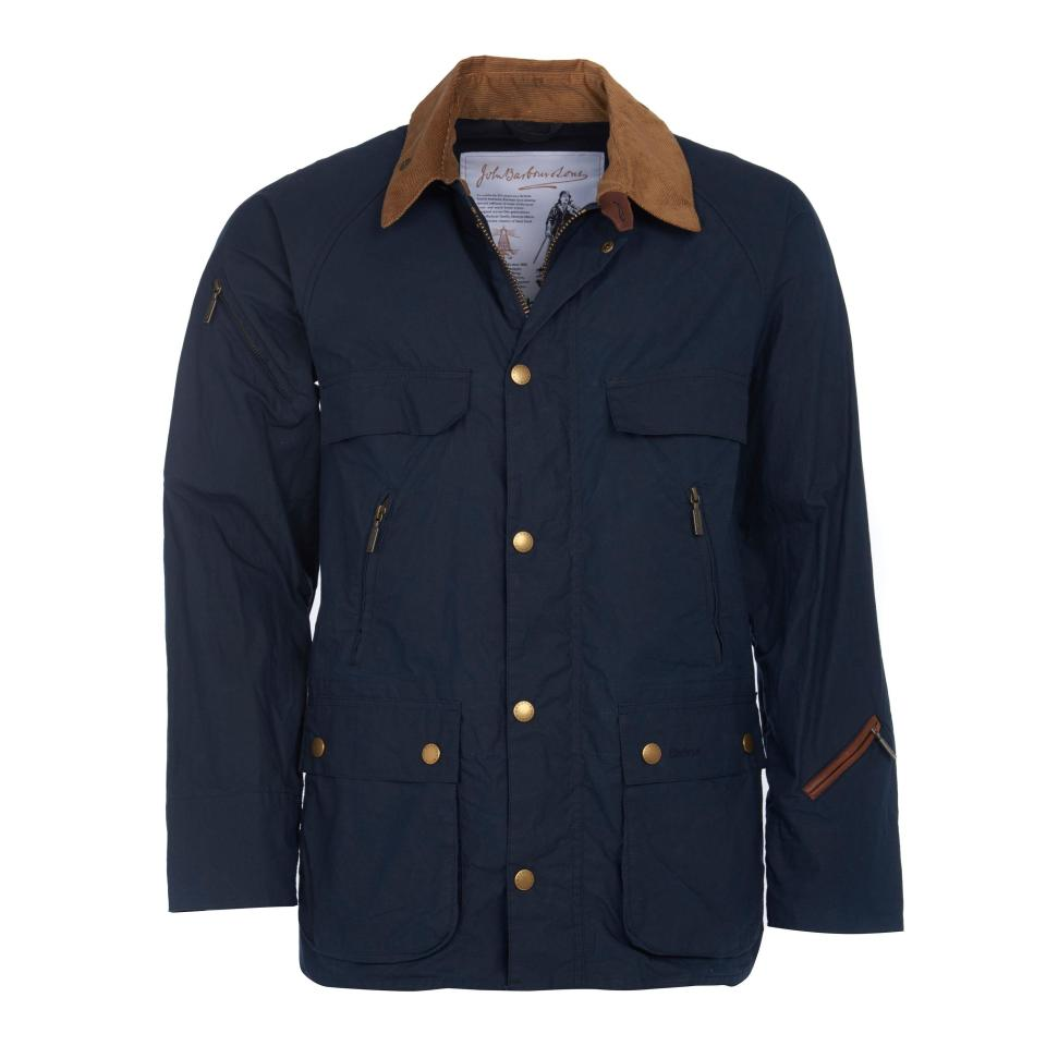 """<p><strong>Barbour</strong></p><p>huckberry.com</p><p><strong>$284.98</strong></p><p><a href=""""https://go.redirectingat.com?id=74968X1596630&url=https%3A%2F%2Fhuckberry.com%2Fstore%2Fbarbour%2Fcategory%2Fp%2F61175-bedale-casual&sref=https%3A%2F%2Fwww.esquire.com%2Fstyle%2Fmens-fashion%2Fg33483963%2Fhuckberry-summer-sale%2F"""" rel=""""nofollow noopener"""" target=""""_blank"""" data-ylk=""""slk:Buy"""" class=""""link rapid-noclick-resp"""">Buy</a></p><p>Spring ain't the only season with sudden, torrential downpours. Prepare yourself. </p>"""