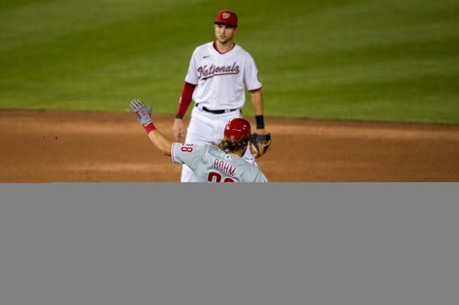 Realmuto's 3-run blast lifts Phillies over Nationals, 8-3