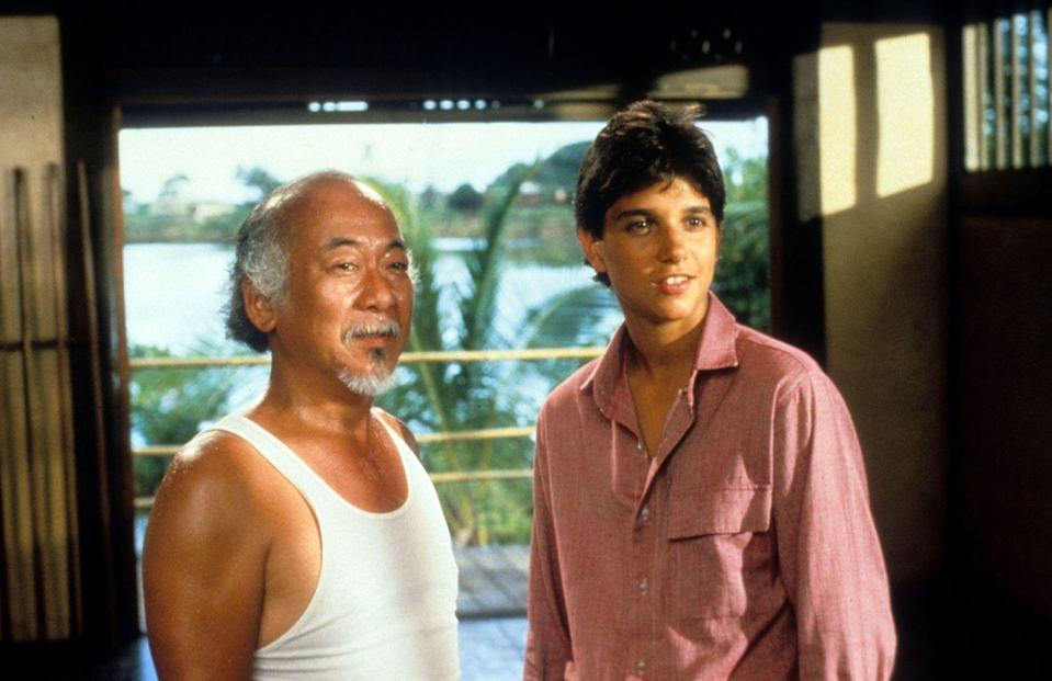 <p>Ralph Macchio appeared in the 1984 cinema classic <em>The Karate Kid</em> and, one could argue, is responsible for a whole generation of teenagers attempting to earn their black belt. Of course, Pat Morita played a big part in that as well.</p>