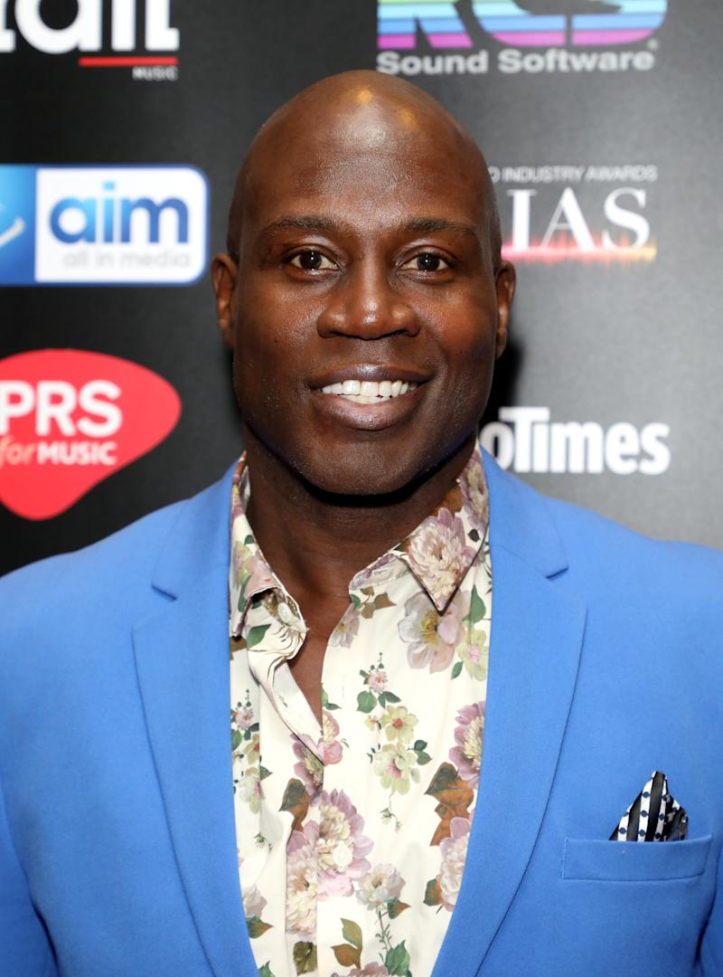 Martin Offiah attending The Audio and Radio Industry Awards held at The London Palladium, London. (Photo by Lia Toby/PA Images via Getty Images)