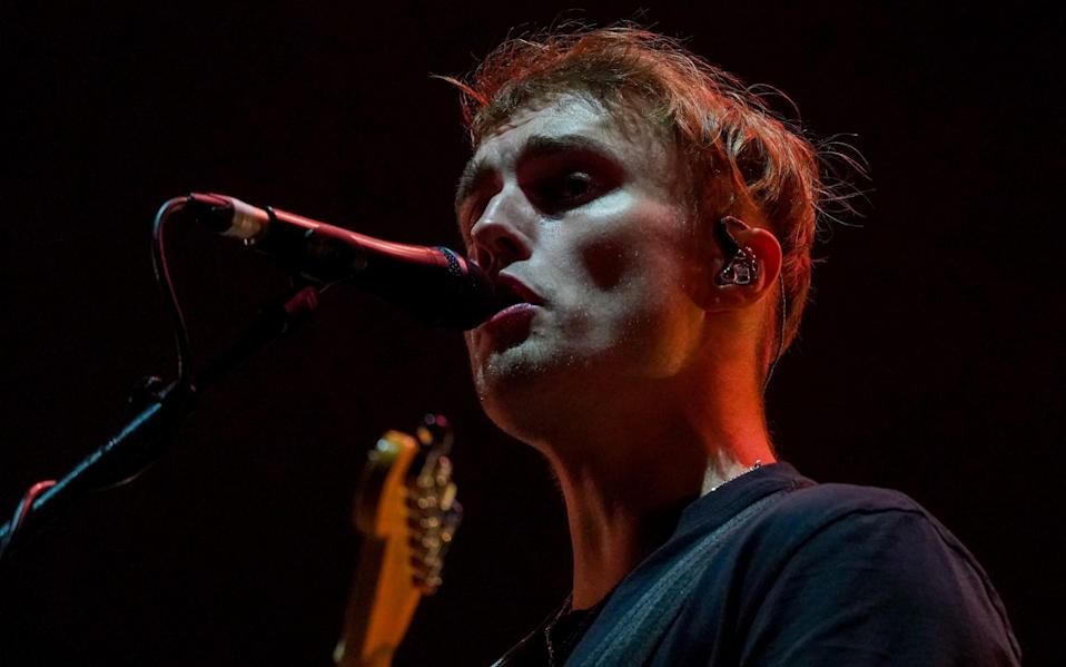 """""""I think you'll be safe tonight"""": Sam Fender reassured fans at his joyous performance - Getty"""