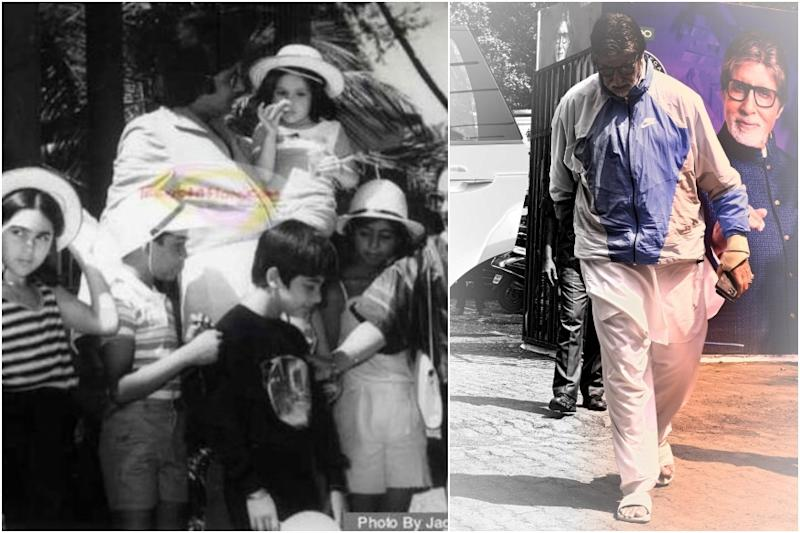 It's Kareena Kapoor in Amitabh Bachchan's Arms in This Viral Throwback Pic