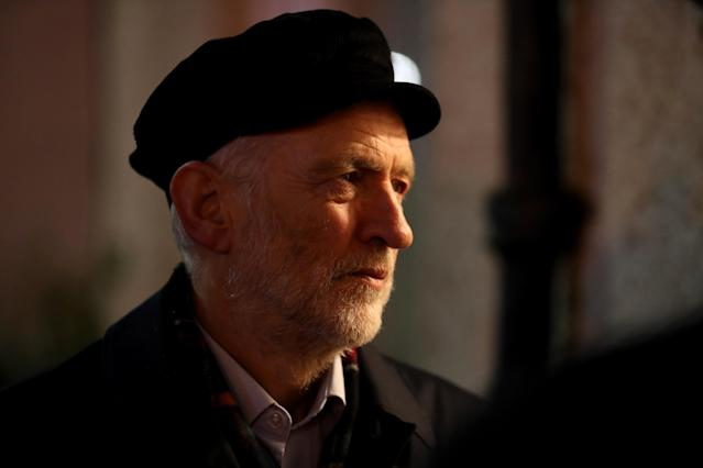 Labour Party leader Jeremy Corbyn Glasgow has been criticised for his comments about the killing of ISIS leader Abu Bakr al-Baghdadi. (PA Images)