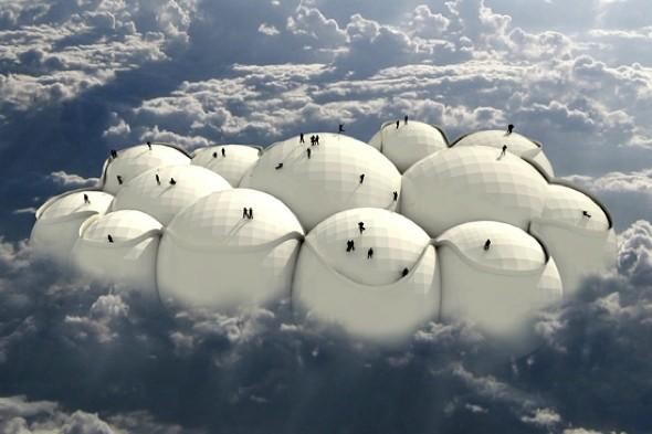 Forget planes and trains: Could floating on a 'cloud' be the new way to travel?
