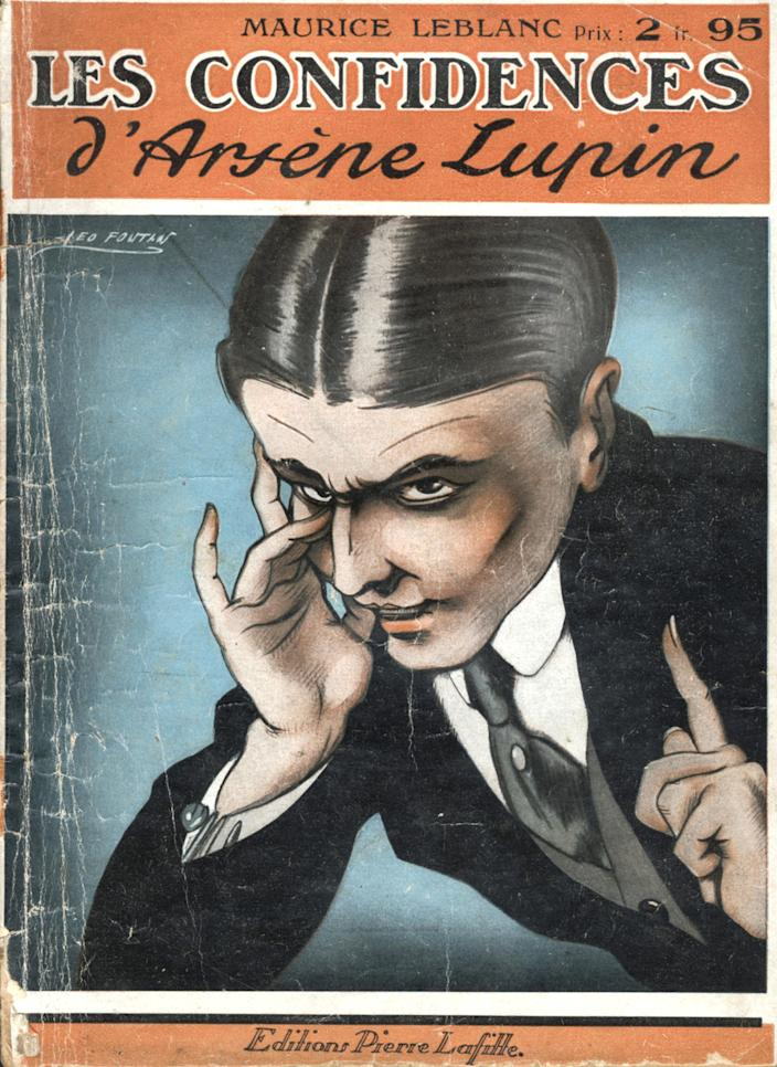 """One of the many Lupin books written by author Maurice Leblanc<span class=""""copyright"""">Apic/Getty Images</span>"""