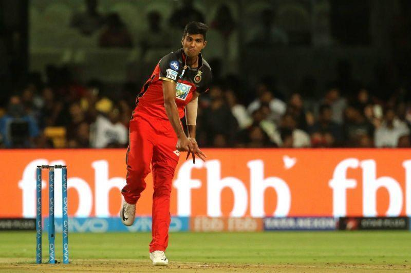 Sundar was dropped from RCB's playing XI after playing 7 matches