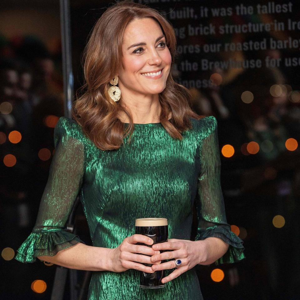 The Duchess of Cambridge wears The Vampire's Wife in Dublin - AFP