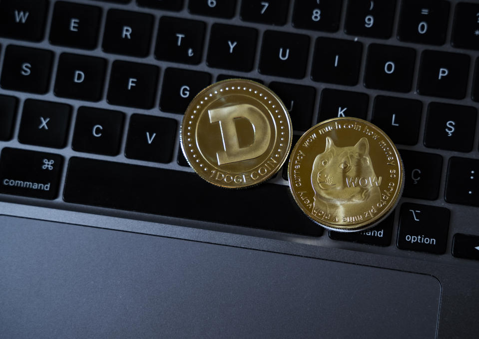 10,000 new dogecoins are mined every minute and there is no maximum supply. Photo: Getty Images