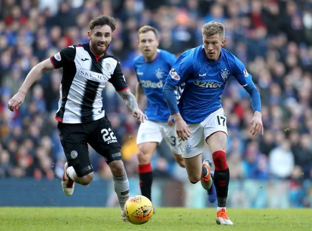 Ross McCrorie is showing no symptoms (Andrew Milligan/PA)