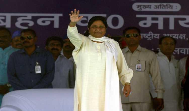 Mayawati Seeks Action Against Forcing People To Chant Religious Slogans