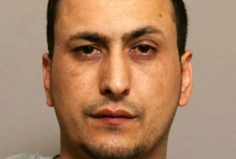 Hafiz Sharifi, 29, admitted killing Suvekshya Burathoki at her Leicester home (Picture: SWNS)