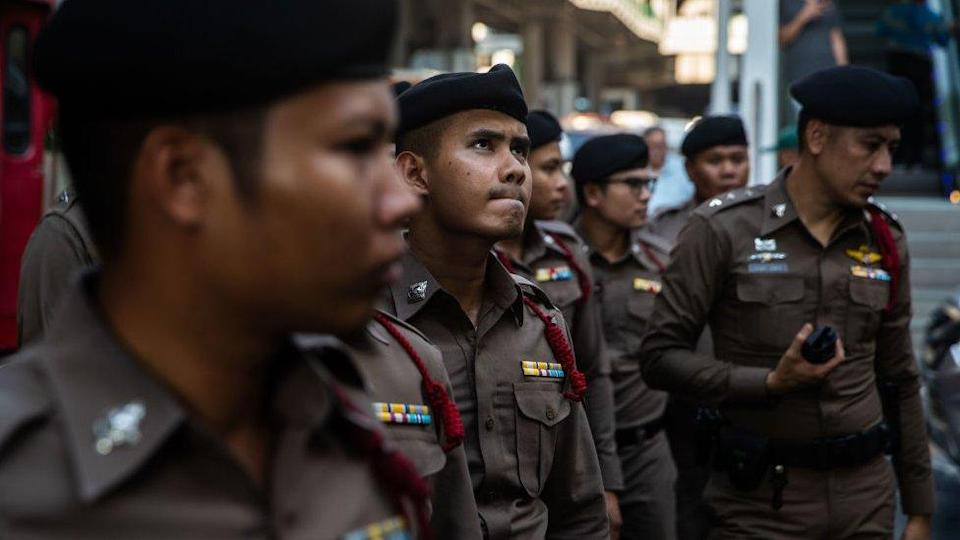 """Police monitor Thailand's """"Red Shirts"""","""