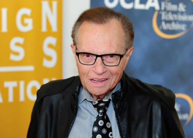 """Television host King arrives at the opening night of the UCLA Film and Television Archive film series """"Champion: The Stanley Kramer Centennial"""" and world premiere screening of """"Death of a Salesman"""" in Los Angeles"""